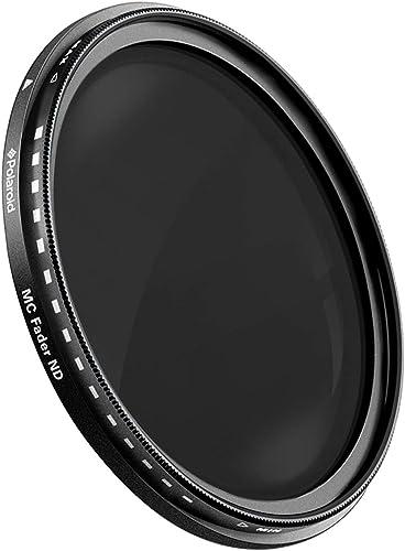 wholesale Polaroid Optics popular 2021 43mm Multi-Coated Variable Range [ND3, ND6, ND9, ND16, ND32, ND400] Neutral Density Fader Filter ND2-ND400- Compatible w/ All Popular Camera Lens Models outlet online sale