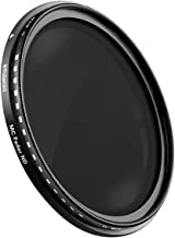 Polaroid Optics 58mm Multi-Coated Variable Range [ND3, ND6, ND9, ND16, ND32, ND400] Neutral Density Fader Filter ND2-ND2000 - Compatible w/ All Popular Camera Lens Models
