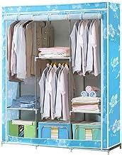 HN Wardrobe, Cloth Wardrobe Assembly Cloth Wardrobe Simple Wardrobe Combination Cloth Wardrobe Double Wardrobe Storage Cab...