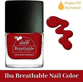 Iba Halal Care Breathable Nail Color, B10 Wedding Bells, 9ml