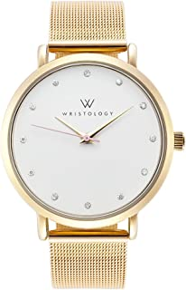 WRISTOLOGY Olivia - 6 Options - Womens Crystal Gold Watch
