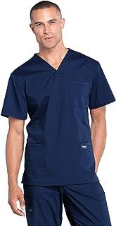 Workwear Professionals Men Scrubs Top V-Neck WW695