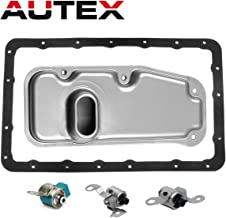 AUTEX A340E A340F Transmission Shift Lockup Solenoid with Filter Gasket Kit Compatible With 00 01 02 03 04 4 Runner/00 01 02 Land Cruiser/00 01 02 03 04 Tacoma/01 02 03 04 Tundra V8