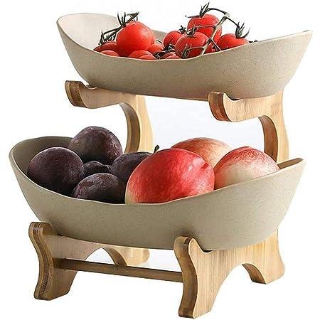 Vaorwne Ciotola di Frutta Domestica Piatto di Caramelle nel Legno Piatto di Frutta Radice di Scultura nel Legno Piatto di Frutta nel Legno 20-24 Cm