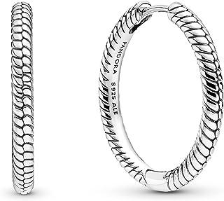 Pandora Moments Charm-Ohrringe in Sterlin-Silber aus der Pandora Moments Collection