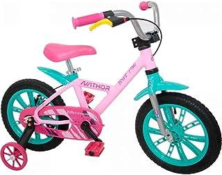 Bicicleta Infantil Aro 14 First Pro Feminina, Nathor