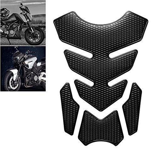 YChoice365 Motorrad Universal 3D Tankaufkleber Motorrad Heizöl Gas Tank Pad Schutz Aufkleber Aufkleber Für Honda/Suzuki/Kawasaki/Yamaha/KTM/BMW/Harley