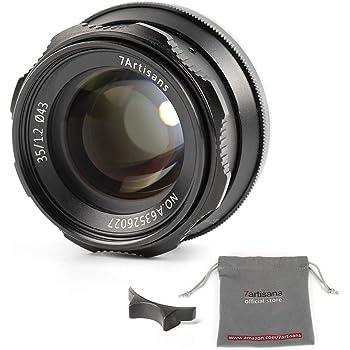 7 artisans 55mm f//1 4 Portrait lente para Fujifilm x cámaras t3 t2 20 t30 t100