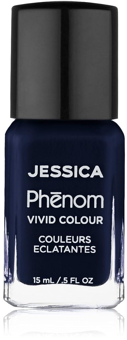 バリー換気漁師Jessica Phenom Nail Lacquer - Blue Blooded - 15ml / 0.5oz