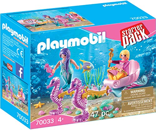Playmobil - Starterpack Sirènes avec Carrosse - 70033