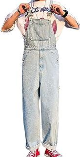each women Men's Denim Dungaree Mens Jeans Work Bib Vintage Chic Overall Cargo Workwear Jumpsuits
