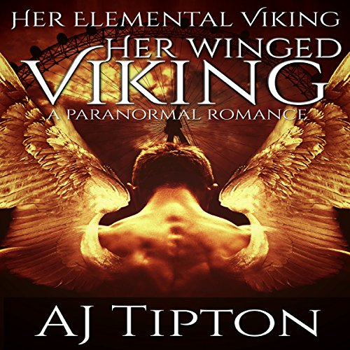 Her Winged Viking: A Paranormal Romance audiobook cover art