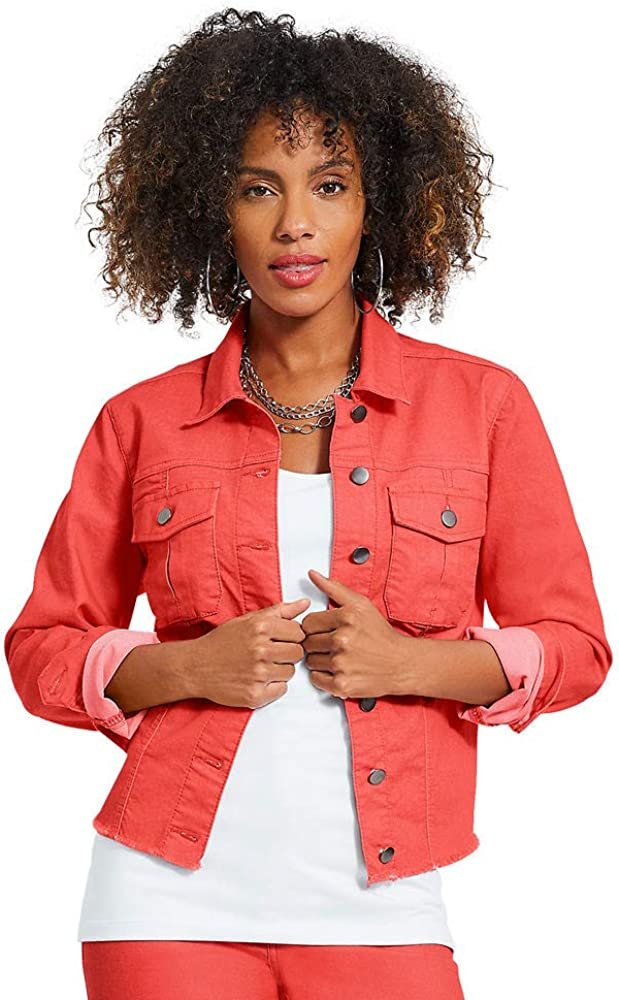 Colored Jean Jacket