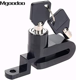 YLWSDDD New Motorcycle Bike Bicycle Disc Brake Lock Security Anti-Theft Alarm Lock Motorcycle Theft Protection Stainless Alloy