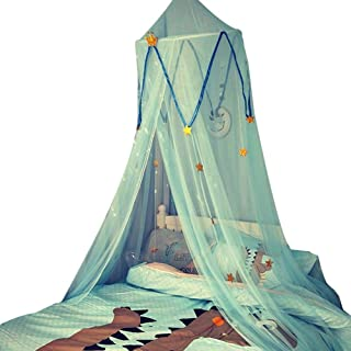 dissylove Secret Garden Hideaway Bed Canopy Hanging Play Tent for Kids Bedroom, Suitable for Crib, 1.2m Bed, 1.5m Bed, 1.8m Big Bed.