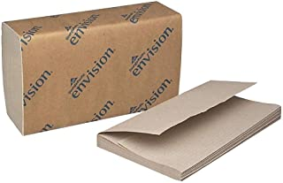 Georgia Pacific Products - Georgia Pacific - Envision 1-Fold Paper Towel, 10-1/4 x 9-1/4, Brown, 250/Pack, 16/Carton - Sold As 1 Carton - High-quality, embossed. - Ideal for bathrooms and shared work areas. -