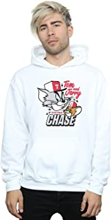 Tom And Jerry Men's Cat & Mouse Chase Hoodie