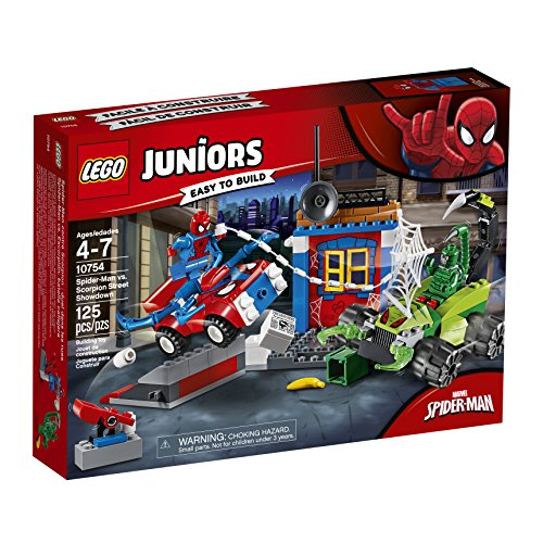 LEGO- Juniors Spider-Man Spiderman Resa dei con Ti Finale, Multicolore, 10754