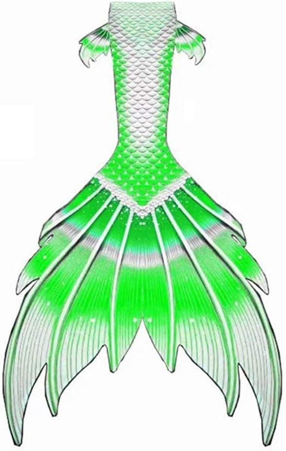 RTYU Mermaid Tails, Swimsuit with Fin, Swimming Costume,Mermaid