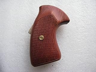 Feelsogood New Hardwood Grip for Colt D Frame Short Butt Revolver Detective Special, Diamond Back Police Positive, Agent, Viper, Post 1966 Handmade