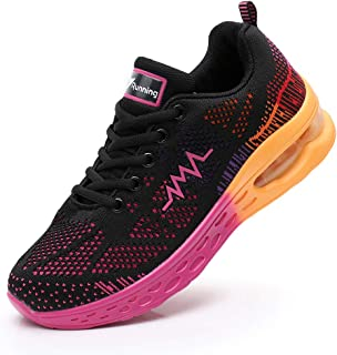 JARLIF Women's LT 2 Road Running Sneakers Fashion Sport Air Fitness Workout Gym Jogging Walking Shoes