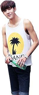ランニングシャツ ノースリーブ Tシャツ 夏 冷感インナー メンズ フィットネス トレーニング スポーツ