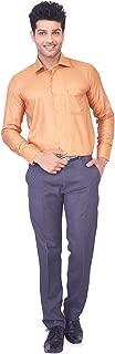 MARK ANDERSON Men's Formal Shirt, Gold