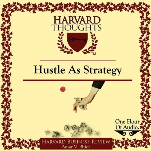 Hustle as Strategy audiobook cover art