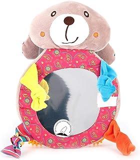 comprar comparacion Espejo de seguridad para bebés para niños pequeños de dibujos animados para niños Vista posterior del asiento trasero Espe...