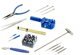 SE 16-Piece Watch Repair Tool Kit
