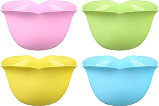 Archer Perfect Poachers, Poached Eggs Cups - Silicone Egg Poaching Cups - Stovetop or Microwave Egg Poacher - Dishwasher Safe Poached Egg Maker - Pack of 4 Nonstick - Pastel Colors - BPA Free