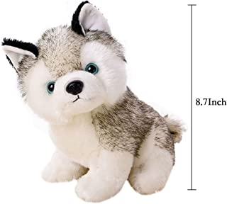"""18/22/28cm(7/9/11"""") Super Cute&Cuddly Soft Plush Stuffed Cute Animal Doll Toy Holiday Kid Gift,Husky Pet Dog Plush Pillow ,For 1-18 Years Kids Children"""