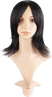 MapofBeauty Ladies Straight Avant Garde Cosplay Wig (Black)