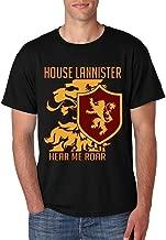 Allntrends Men's T Shirt House Lannister Hear Me Roar