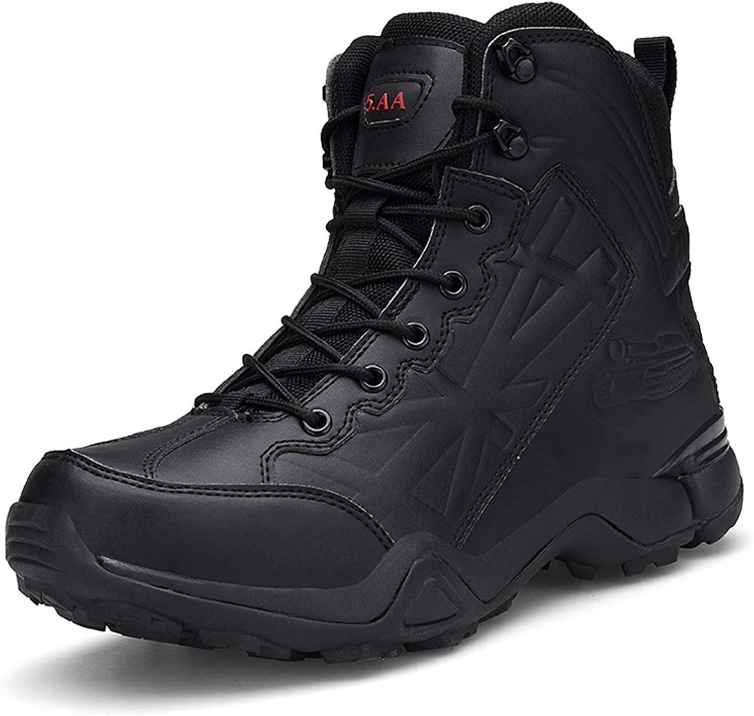 Men's Outdoor Military Boots Wear Hiking Tactical Boots Desert Boots Special Training Combat Boots Security Boots Hiking Boots