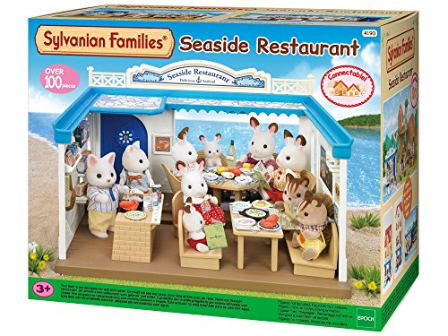 SYLVANIAN FAMILIES- Seaside Restaurant Mini muñecas y Acces