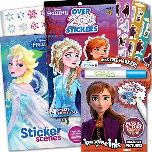 Disney Frozen 2 Imagine Ink Coloring Activity Book Deluxe Set Buy Online In China At China Desertcart Com Productid 90505419