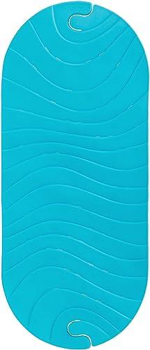 Boon Ripple Bath Mat, Blue