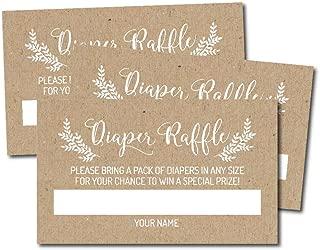 Best diaper raffle card Reviews