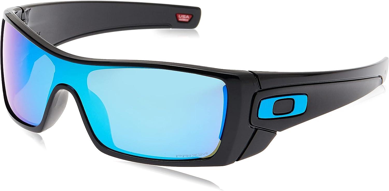 Oakley Super Special SALE held Men's Oo9101 Ranking TOP11 Sunglasses Shield Batwolf
