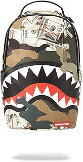 sprayground camo shark luggage