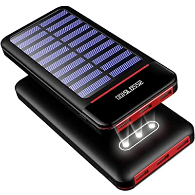 Solar Charger Power Bank 25000mAh Portable Char...
