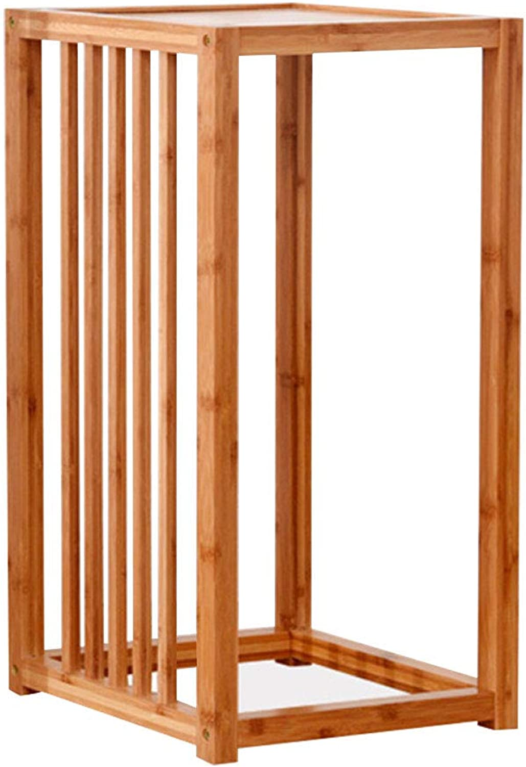 Plants Display,1-3 Shelf Multi Function Household Wooden Plant Flower Display Stand Household Products (Size   62x26.5)