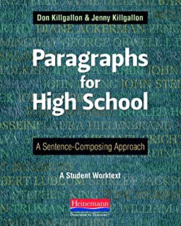 Best high school paragraph writing Reviews
