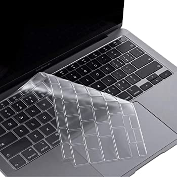 Color : Gold LIUFENGLONG Unique Ultra Thin Silicone Keyboard Cover Keyboard Skin Protector for Apple MacBook Air Pro 13 15 17 US Version
