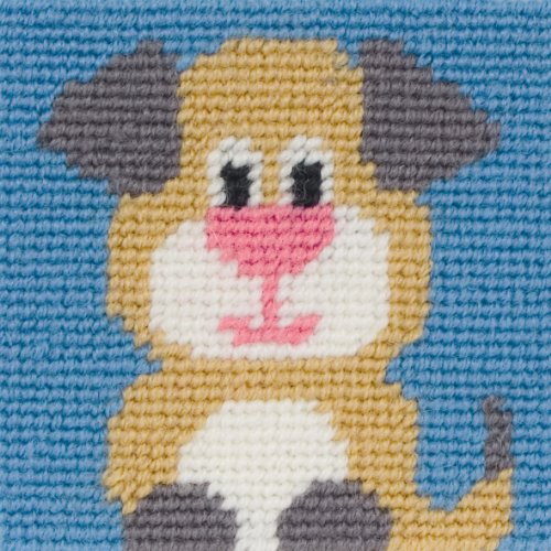 Anchor - Patrón para Cuadro de Punto de Cruz, diseño de Perro