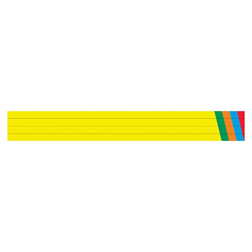 Top Notch Teacher Products Sentence Strips Tag (75 Count), Primary Assorted