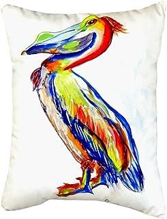 "Betsy Drake nc985a sylvester pelican بدون سلك ، وسادة ، مقاس 16"" x20"""