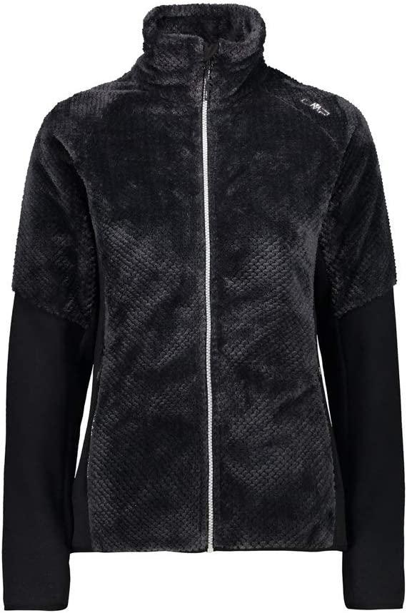 CMP Giacca Knit Tech in Pile Teddy