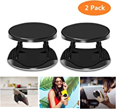 Pop Grip Stand Holder Mount, YMH Collapsible Expandable Pop up Popup Grip Stand Holder Mount for iPhone Phones Tablets and Cases Boy Girl Couple Gift, Black 2 Pack